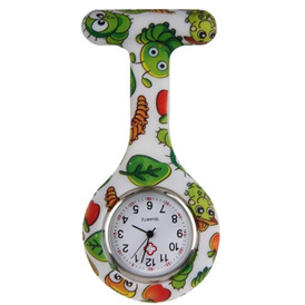 Cartoon Caterpillar Nurse Watch