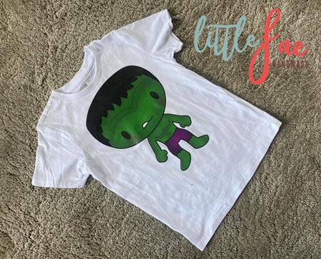 Cartoon Hulk T-shirt