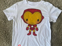 Cartoon Iron Man T-shirt