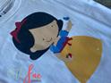 Cartoon Snow White T-shirt