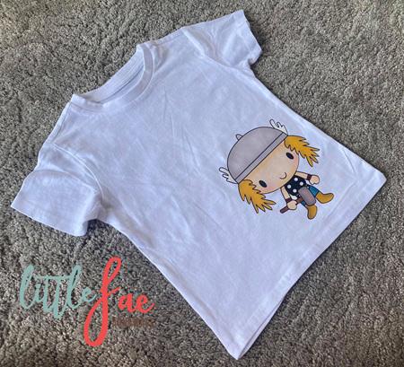 Cartoon Thor T-shirt