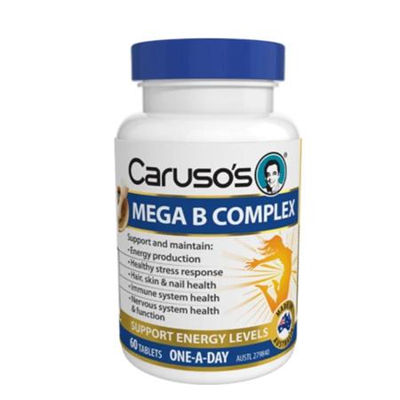 CARUSO MEGA B COMPLEX 60 TABLETS