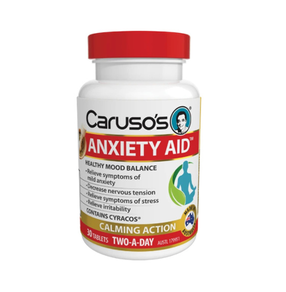 Caruso's Anxiety Aid 30 Tablets