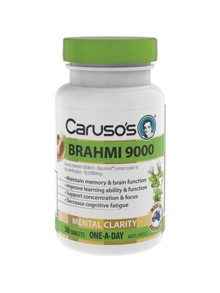 Caruso's Brahmi 9000 50 Tablets