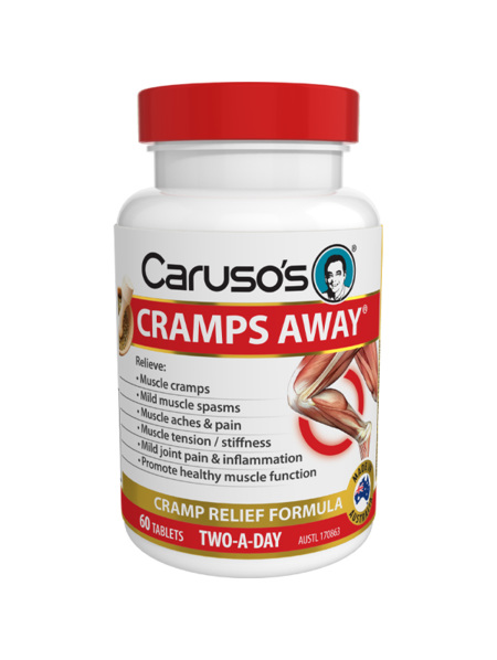 Caruso's Cramps Away 60 Tablets