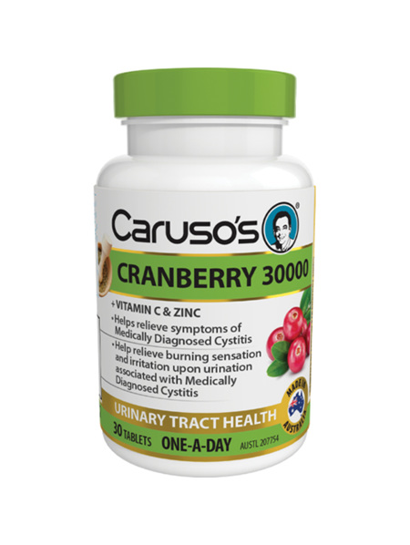 Caruso's Cranberry 30,000 30 Tablets