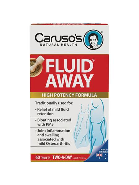 Caruso's Fluid Away 60 Tablets