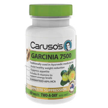CARUSO's GARCINIA 7500 60 TABLETS