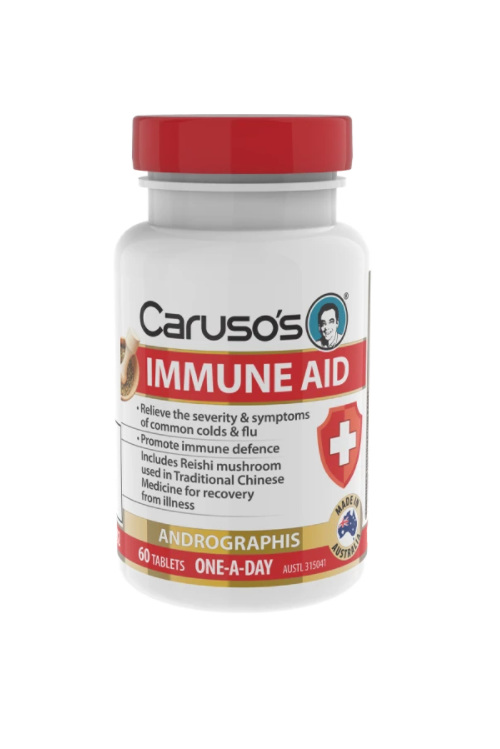 Caruso's Immune Aid 60 Tablets