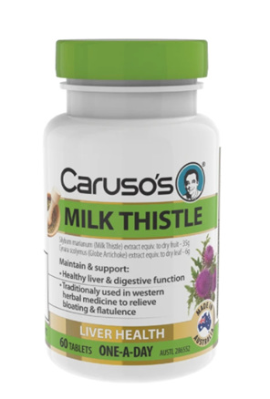 Caruso's Milk Thistle 60 Tablets