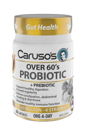 Caruso's Over 60s Probiotic 60 Capsules