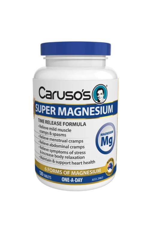 Caruso's Super Magnesium 120 Tablets