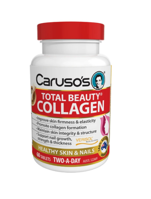 Caruso's Total Beauty Collagen 60 Tablets
