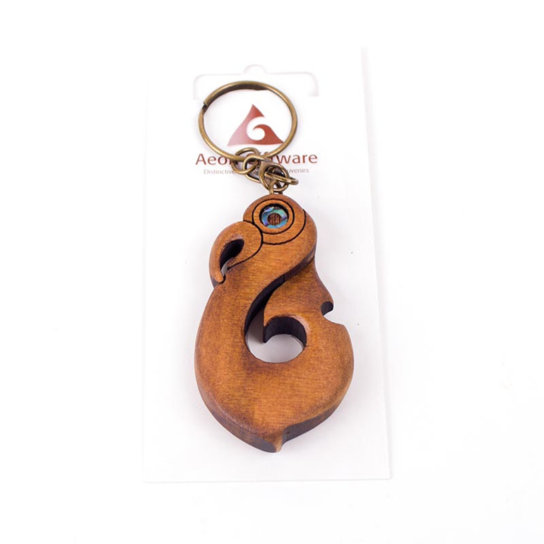 carved key ring - hook