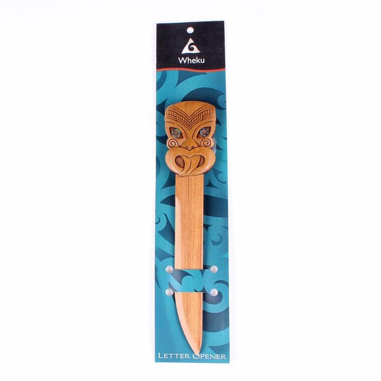 carved wheku letter opener