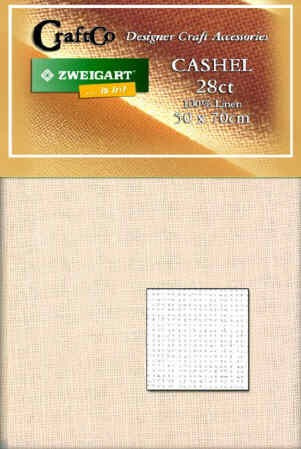 Cashel Linen Fat Quarter - 28 count