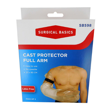CAST PROTECTOR FULL ARM 2 PACK