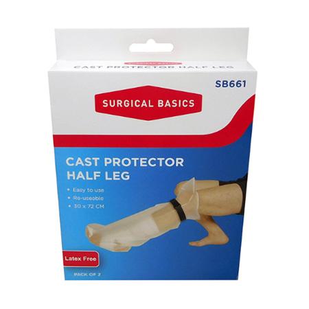 CAST PROTECTOR HALF LEG 60CM 2 PACK