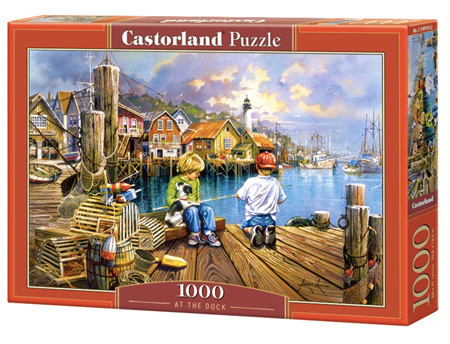 Castorland 1000 Piece Jigsaw Puzzle: At the Dock