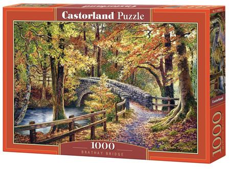 Castorland 1000 Piece Jigsaw Puzzle: Brathay Bridge