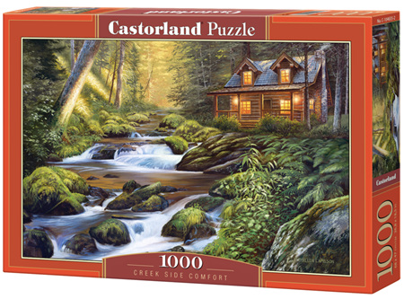 Castorland 1000 Piece Jigsaw Puzzle: Creekside  Comfort