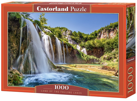 Castorland 1000 Piece Jigsaw Puzzle: Land of the Falling Lakes