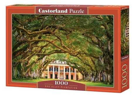 Castorland 1000 Piece Jigsaw Puzzle: Oak Alley Plantation