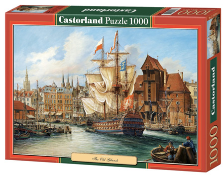 Castorland 1000 Piece Jigsaw Puzzle: Poland: Old Gdansk