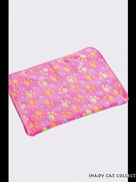 Cat Blanket - Soft Pink