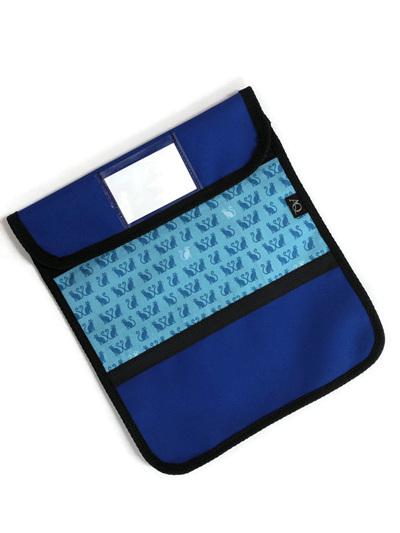 Book bag - blue cat
