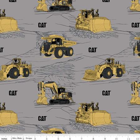 CAT Main Gray C9100