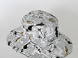 Cat News Bucket Hat - Child size large