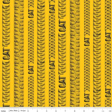 CAT Tracks Yellow C9103