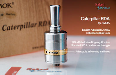 Caterpillar RDA by SMOK