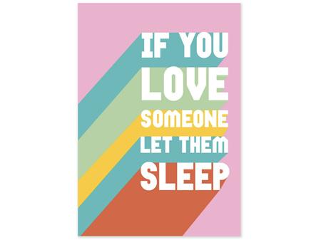 Cath Tate Card - Let Them Sleep