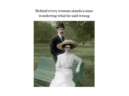 Cath Tate Photocaptions Card Behind Every Woman