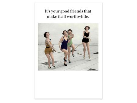 Cath Tate Photocaptions Card Good Friends
