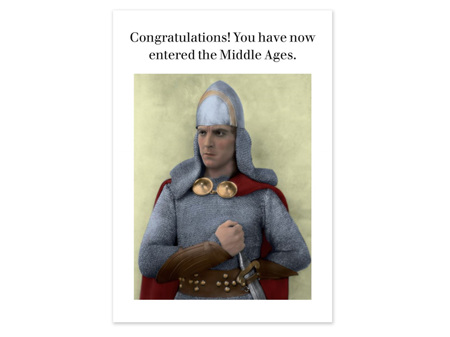 Cath Tate Photocaptions Card Middle Ages