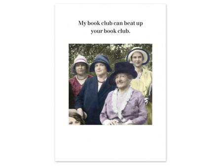 Cath Tate Photocaptions Card My Book Club