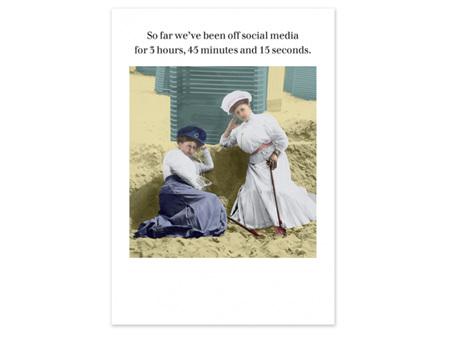 Cath Tate Photocaptions Card Off Social Media Card