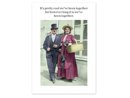 Cath Tate Photocaptions Card Together for However Long