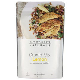 Cathedral Cove Lemon Crumb Mix 75gm