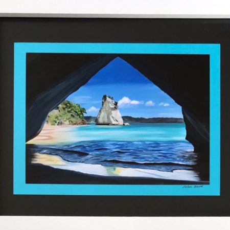 Cathedral Cove - medium frame