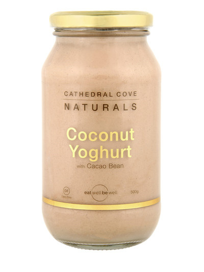 Cathedral Cove Naturals Cacao Coconut Yoghurt - 500g