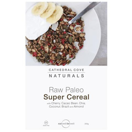 Cathedral Cove Raw Paleo Super Cereal with Cherry and Cacao Bean 350g