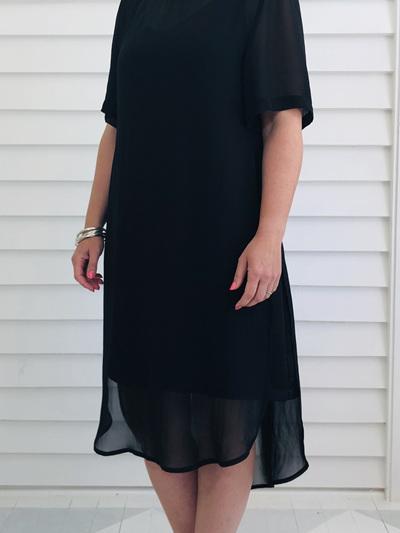 Catherine Dress BLACK