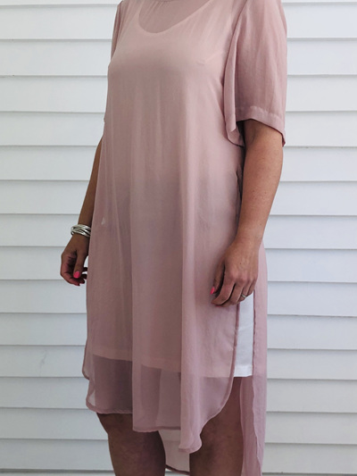 Catherine Dress BLUSH