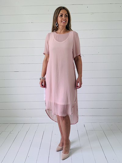 Catherine Dress - Blush