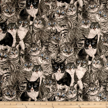 Cats the Way I Like It - Light Grey