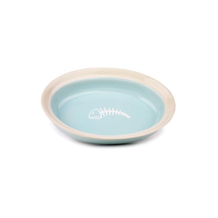 Cattitude Ceramic Dish Fishbone